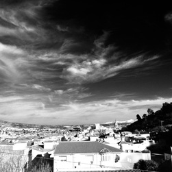 Winter Skies in Granada