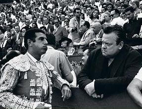 Orson Welles at the Bullfight