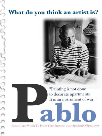 Picasso poster to download